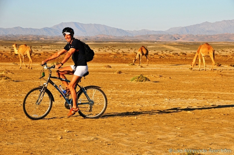 Egypt Bike and Sail Trip - Travel Photography by Lola Akinmade Åkerström