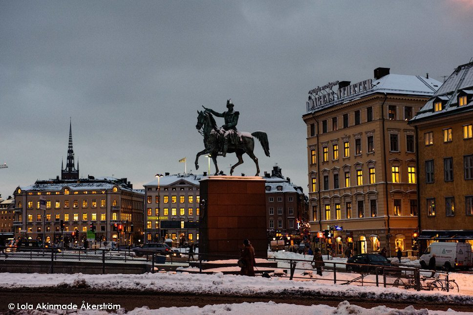 Gamla stan and Slusse, Stockholm - Sweden Winter Photography by Lola Akinmade Åkerström
